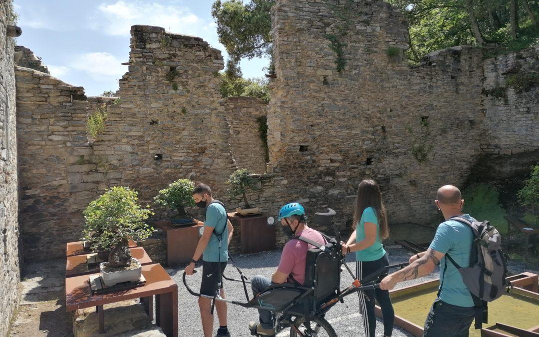 El Jardín recibe sus primeras visitas dentro del programa de inclusión