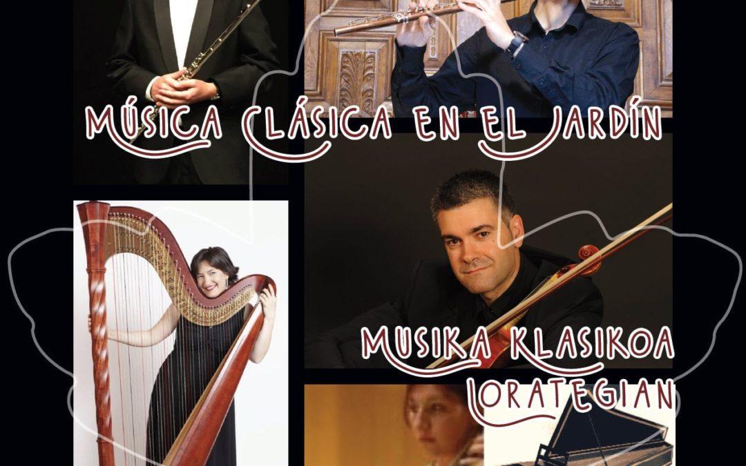 Música clásica impregnará el Jardín los días 11 y 18 de julio